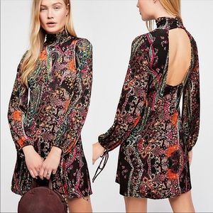 NWT  Free People All Dolled up Mini in black